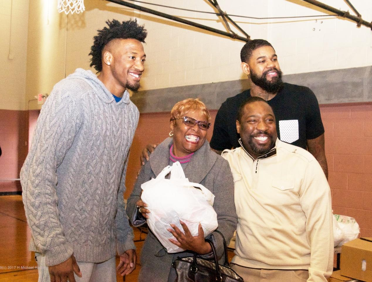 Philadelphia 76ers Turkey Give Away