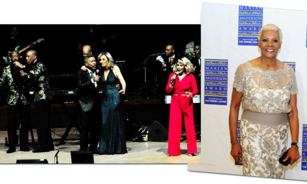 Dionne Warwick Awarded 2017 Marian Anderson Award