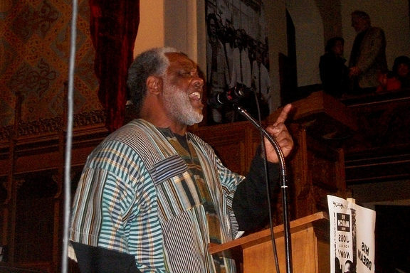 Black Power Visits Camden NJ