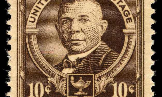 Booker T. Washington Was the First African American to be Featured on a U.S. Postage Stamp