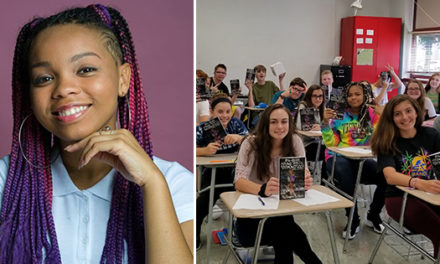 16-Year Old Black Teen's Popular Book Series is Widely Accepted by School Districts