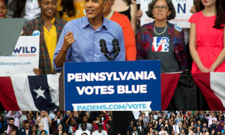 Obama Headlines Democratic Rally in North Philadelphia