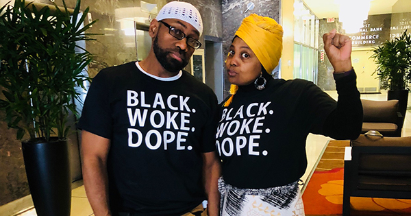 Award Winning Couple & Best Selling Authors Launch Positive Affirmation Apparel to Help Returning Citizens from Incarceration