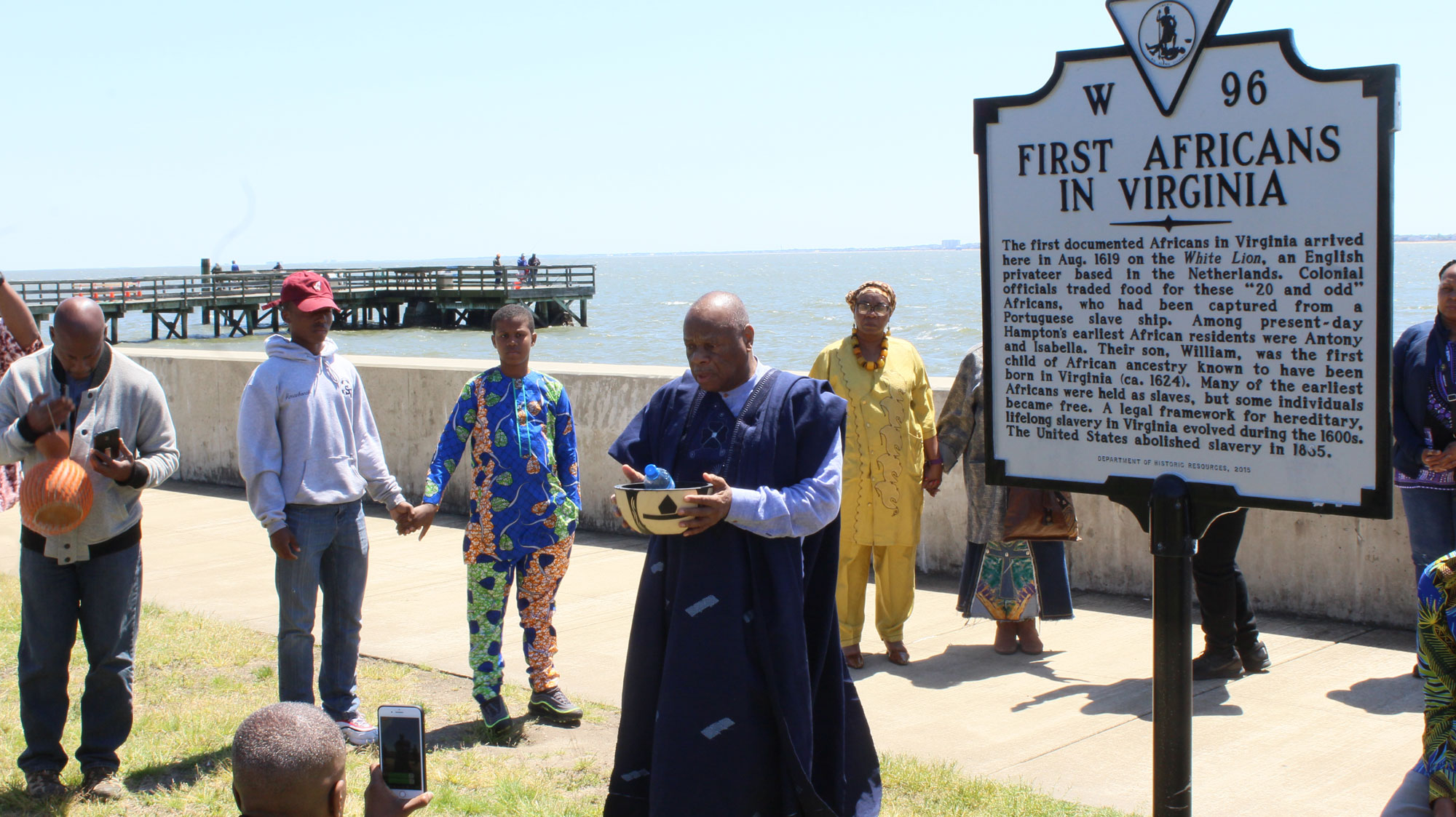 Pilgrimage to Point Comfort Virginia to Honor the Ancestors