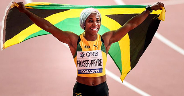 Meet Shelly-Ann Fraser-Pryce, the Fastest Woman in the World Who Just Broke Usain Bolt's Record