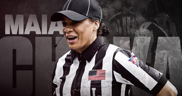 NFL's First Black Woman Referee