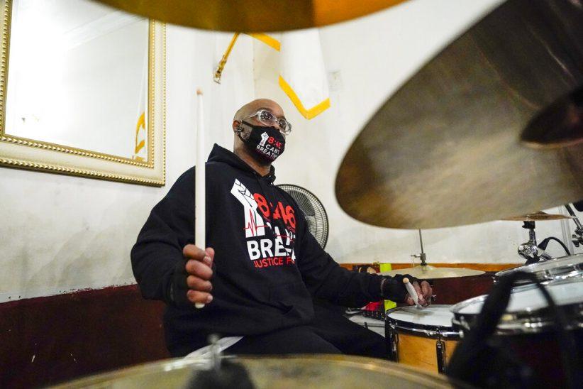 George Floyd kin joins protest anthem album project