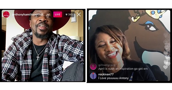 Afro Unicorn Founder, April Showers, and Anthony Hamilton Discuss How to Use Instagram to Transform Your Brand into a Powerful Movement