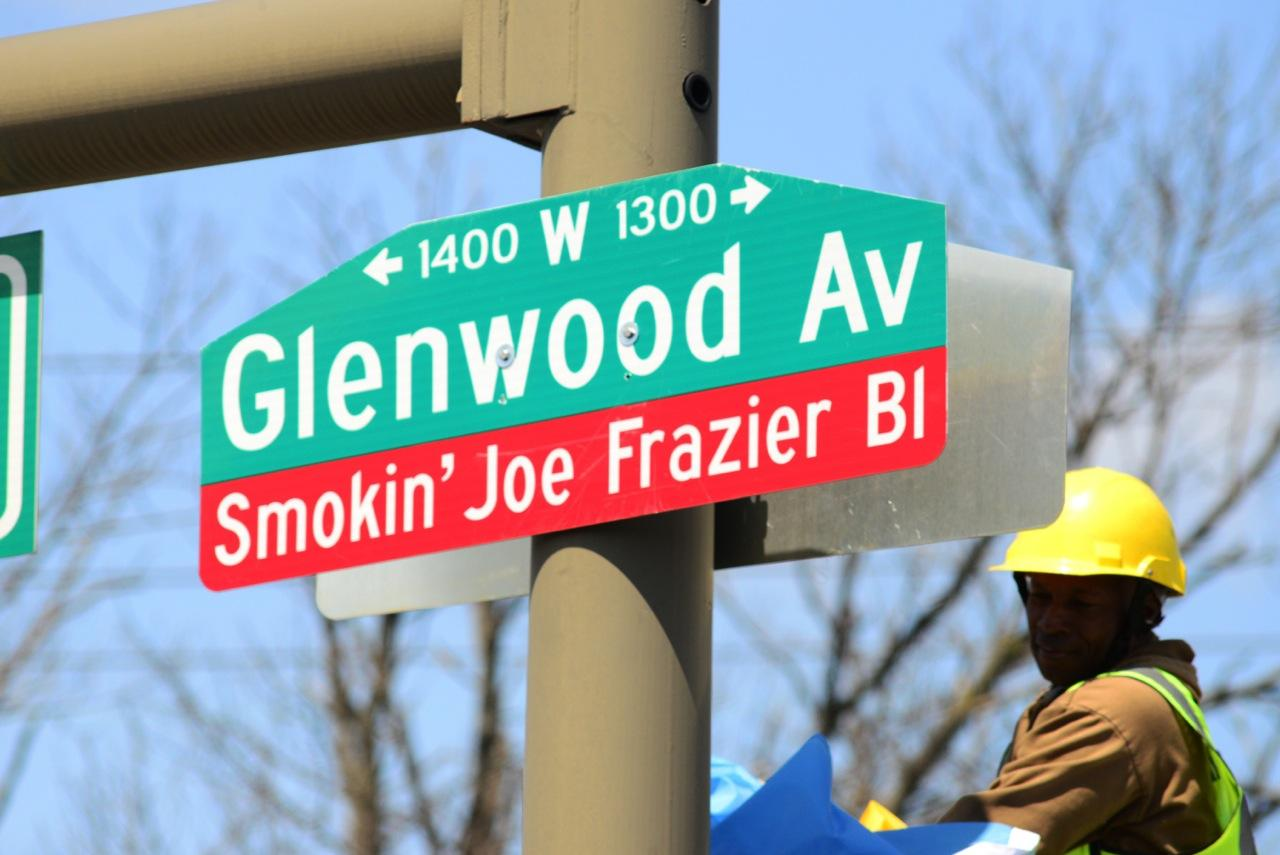 Philly Boxing Great, Honored with Boulevard Dedication