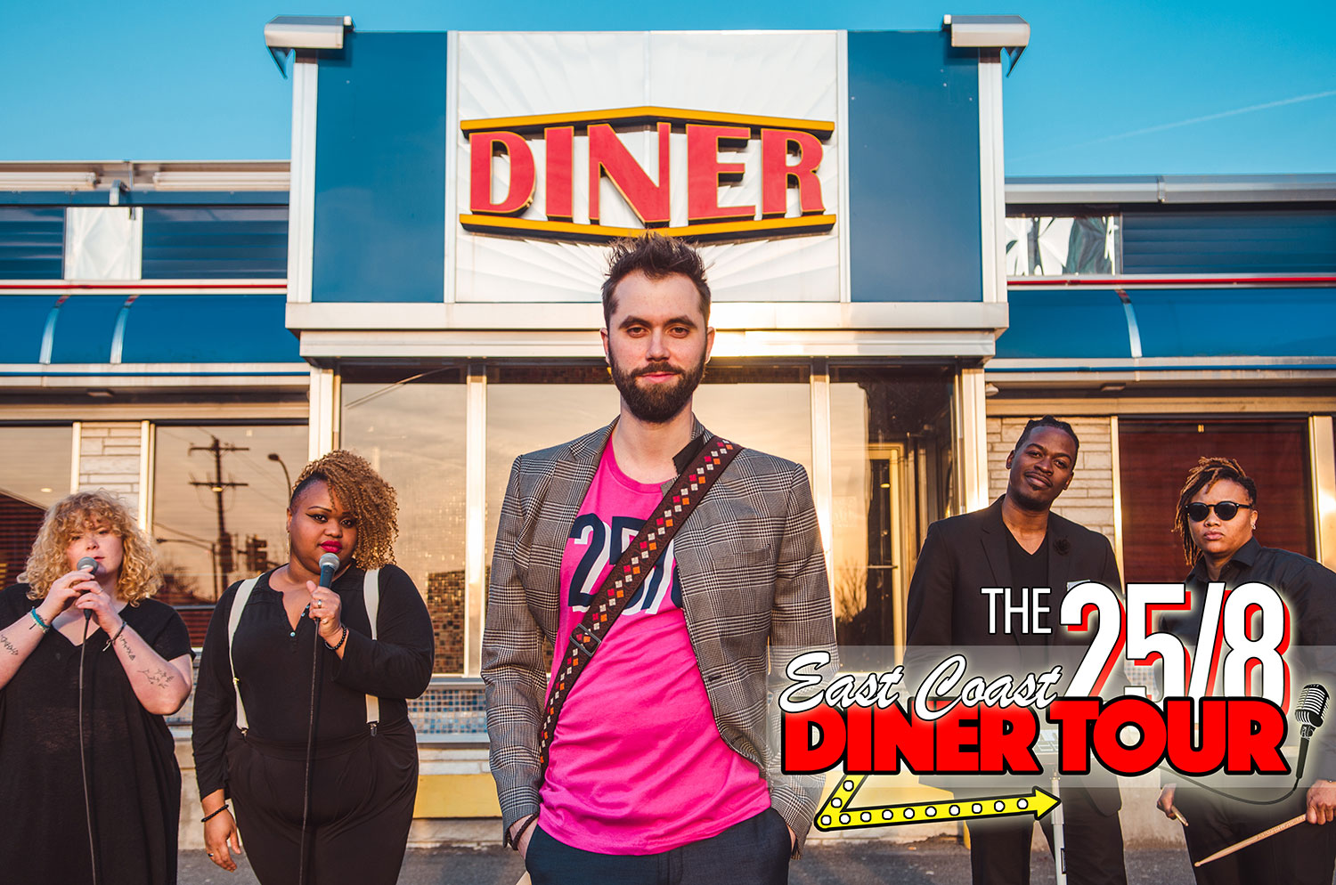 24/7, Why Not 25/8 with the East Coast Diner Tour