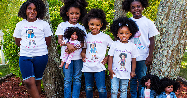 New 18-Inch African Americans Dolls Build Confidence, Self-Awareness and… Entrepreneurs!