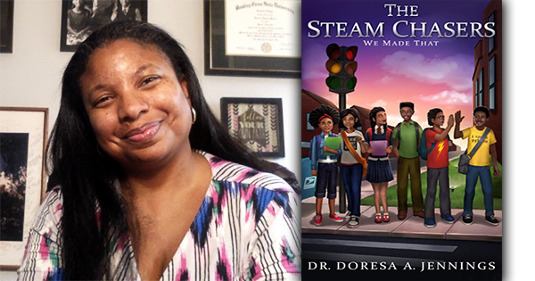 Black Educator Launches STEAM Book Series For Middle Grade Students