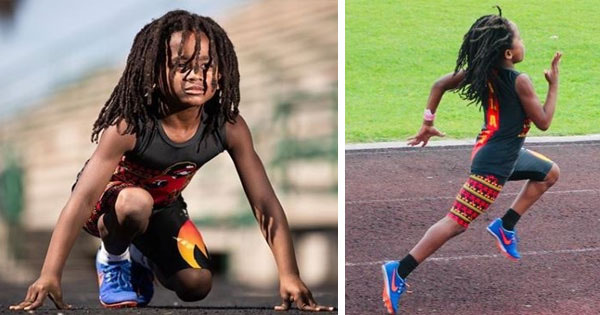 Meet the 7-Year Old Smashing Records as the Fastest Boy in the Country